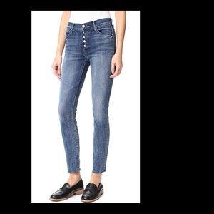 Nordstroms MOTHER Jeans $200 sz 27 frayed